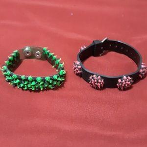 Bundle of vintage bracelets